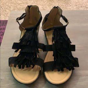 Avenue 12W Boho Gladiator Sandals